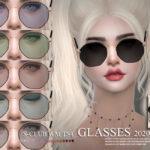 Моды аксессуары очки Симс 4