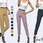 Моды брюки для Симс 4