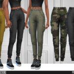 Моды брюки Симс 4