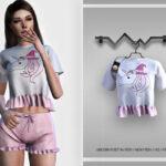 Моды пижама для Симс 4