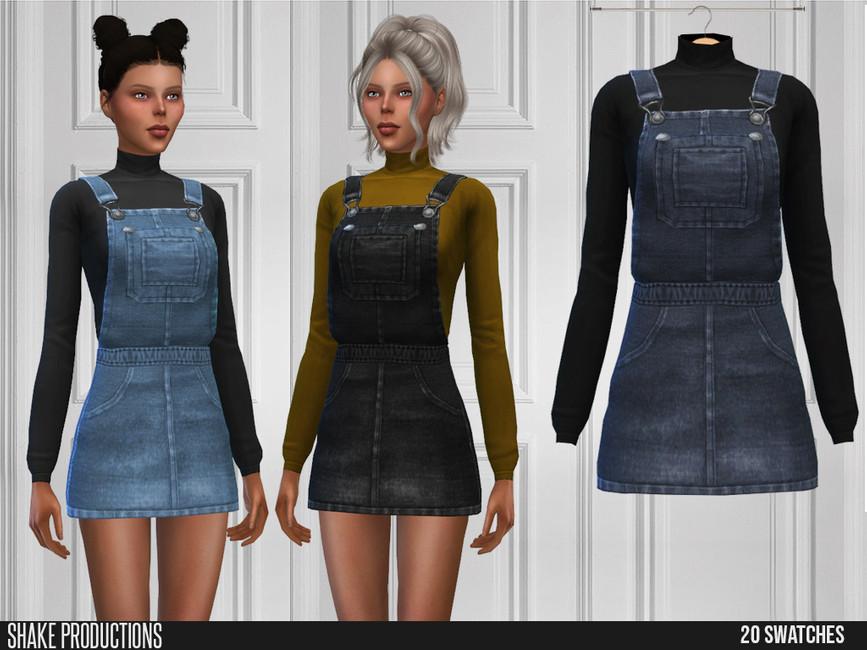 Моды платья Симс 4