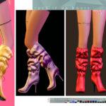 Моды сапоги для Симс 4