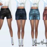 Моды шорты для Симс 4