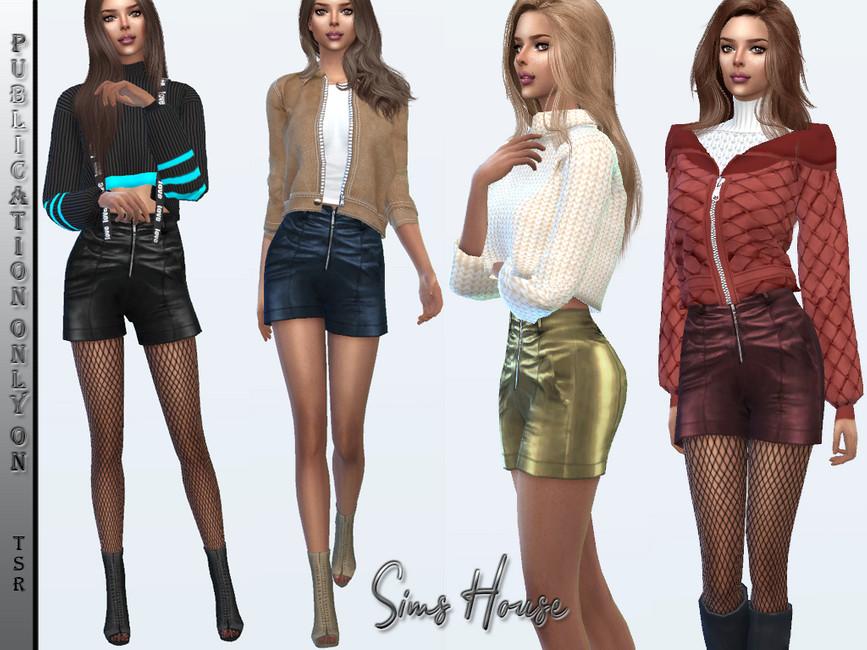Моды шорты для Симс 4 (картинка 2)