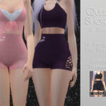 Моды шорты Симс 4
