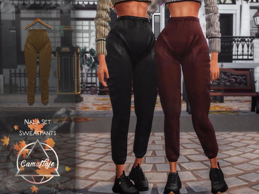 Моды спортивные штаны Симс 4