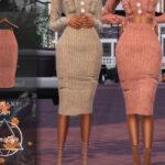 Моды юбки для Симс 4