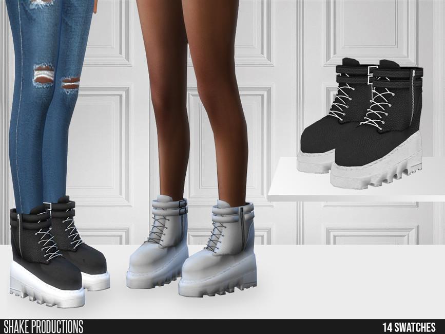 Моды женская обувь Симс 4