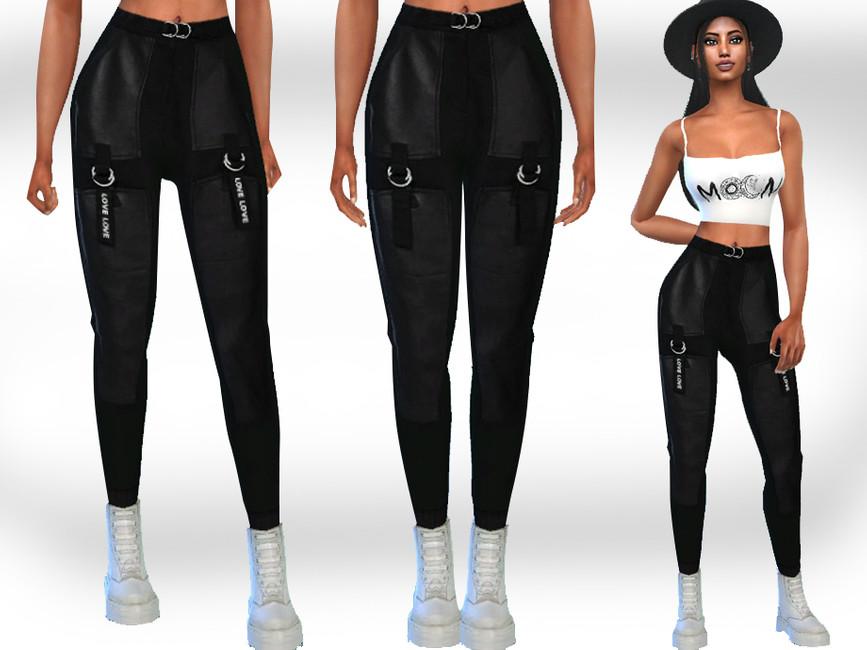 Моды женские брюки для Симс 4
