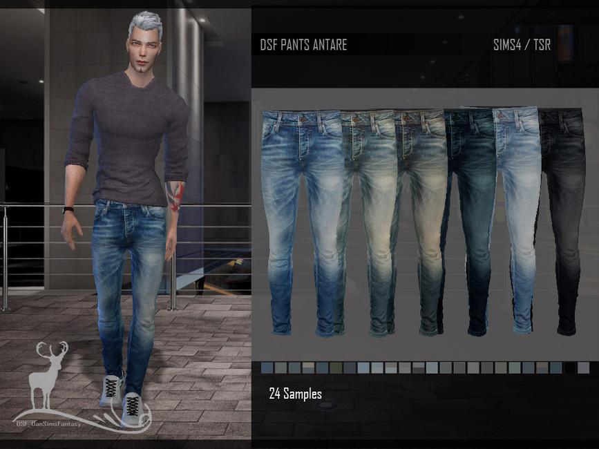 Мужские брюки Симс 4