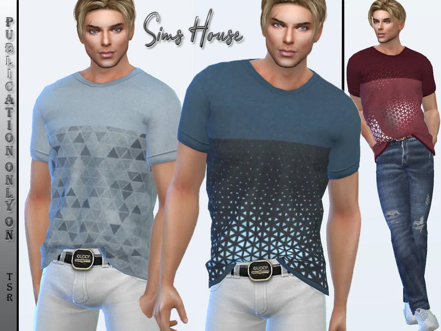 Мужские футболки Симс 4