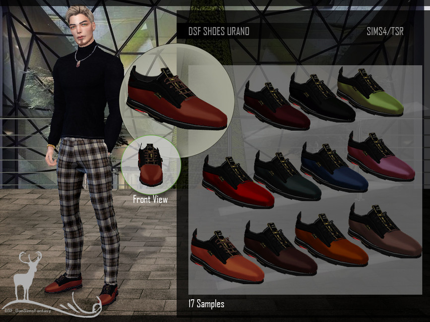 Мужские туфли Симс 4