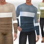Мужской свитер для Симс 4