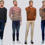 Мужской свитер Симс 4