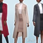 Наряд Leona Outfit Симс 4
