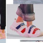 Обувь кроссовки для Симс 4