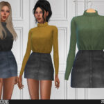 Одежда для девушек для Симс 4