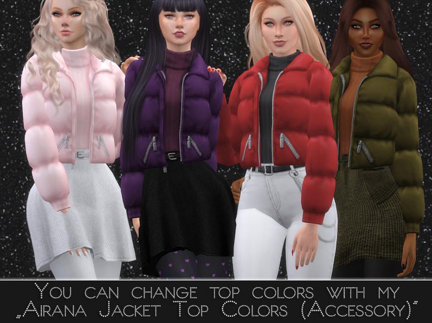 Одежда куртки Симс 4 (картинка 2)