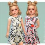 Платье для малышей Симс 4