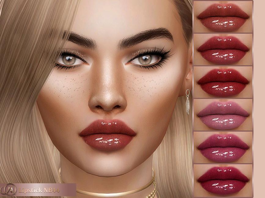 Помада Lipstick NB44 для Симс 4
