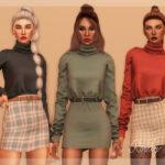 Скачать моды свитер Симс 4