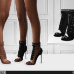 Скачать женскую обувь Симс 4