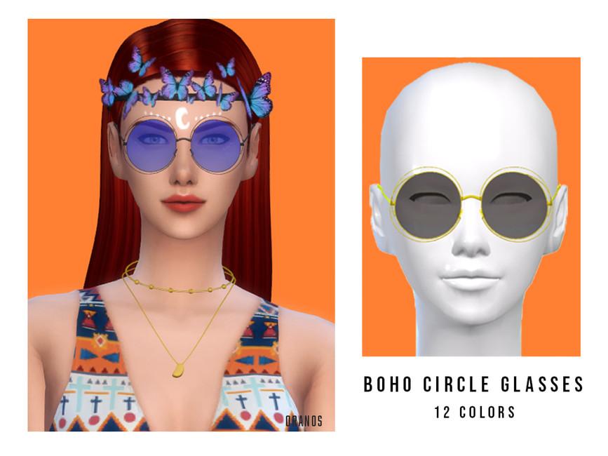 Солнцезащитные очки Симс 4