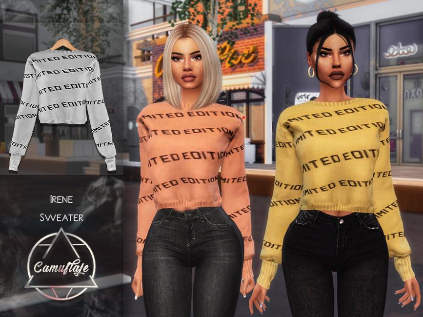 Свитер Irene (Sweater) Симс 4