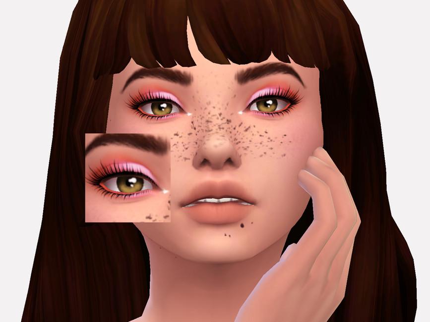 Тени Elm Eyeshadow для Симс 4