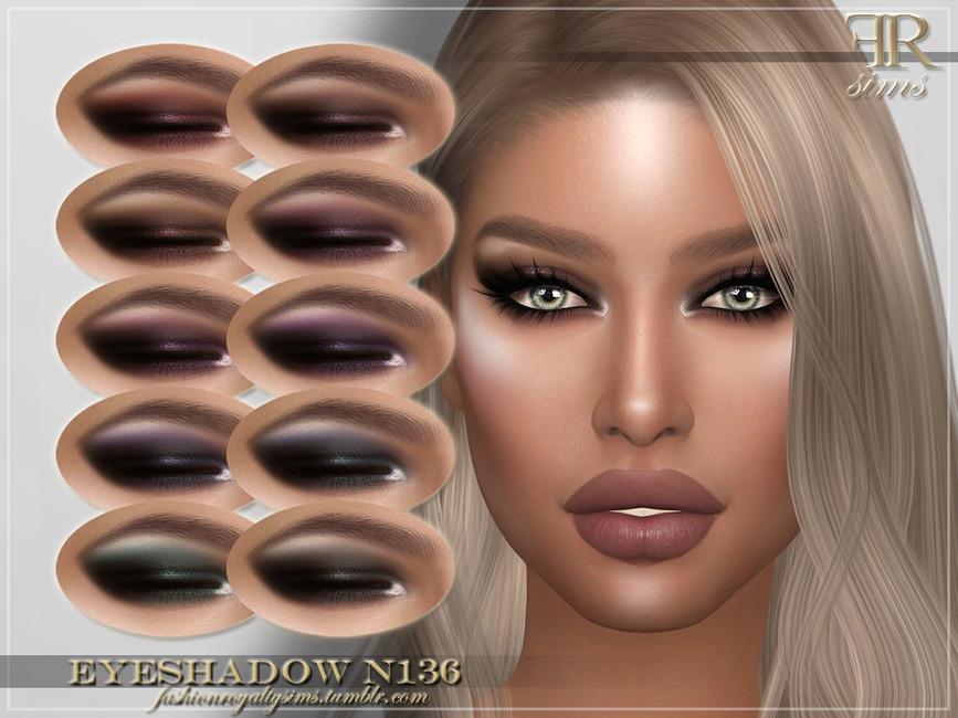 Тени FRS Eyeshadow N136 для Симс 4