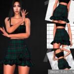 Юбка Skirt 7.11-VI для Симс 4