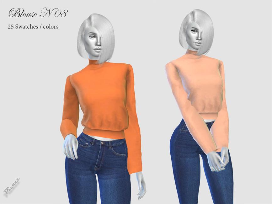 Женские блузки Симс 4