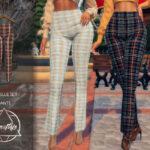 Женские брюки для Симс 4