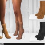 Женские сапоги для Симс 4