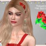 Аксессуар для волос Poinsettia Hair (Accessory) Симс 4