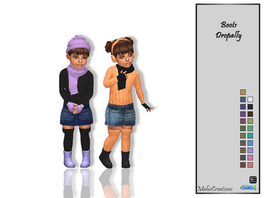 Ботинки для детей Симс 4 (картинка 2)