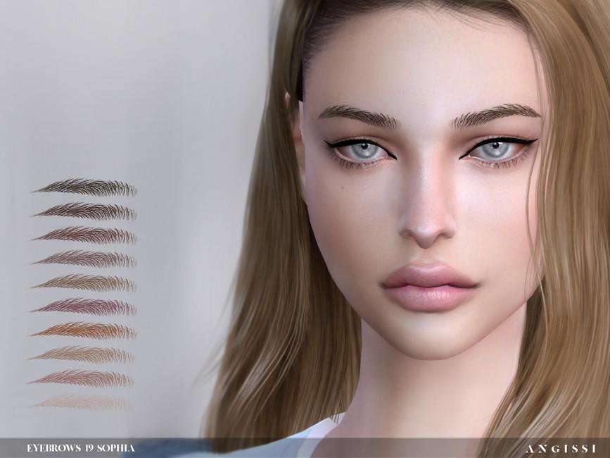 Брови Eyebrows19 - Sophia Симс 4