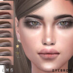 Брови Eyebrows N97 Симс 4