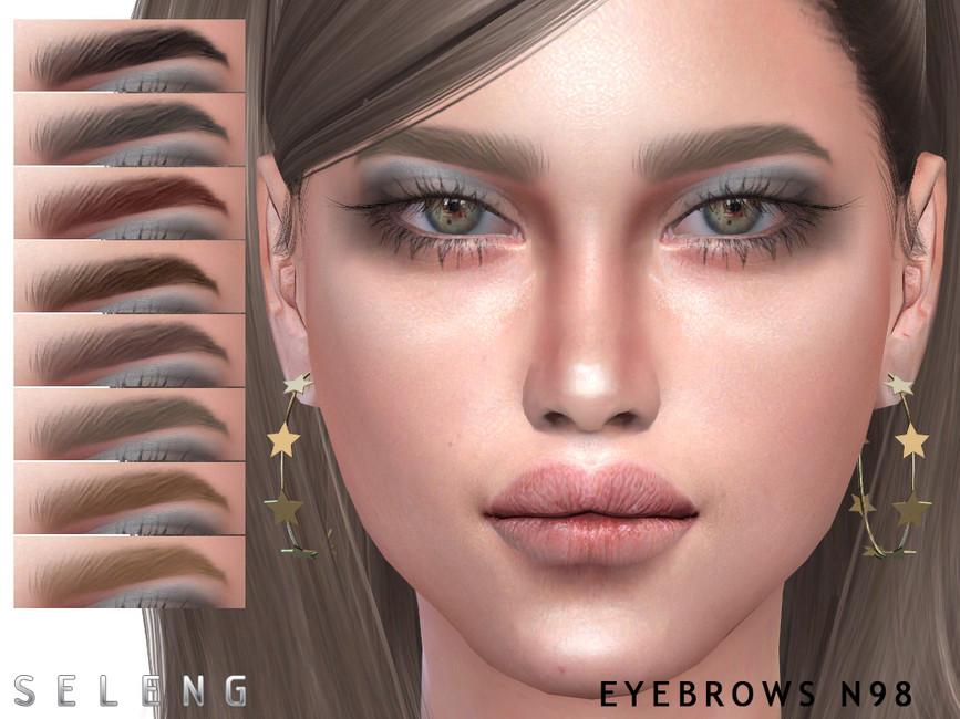 Брови Eyebrows N98 Симс 4