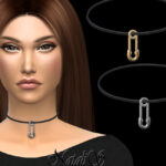 Чокер Safety Pin Choker для Симс 4