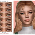 Цвет глаз Симс 4