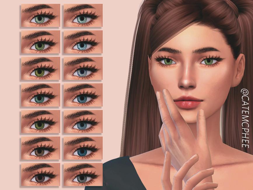 Глаза E-01 / Amelia Eyes Симс 4