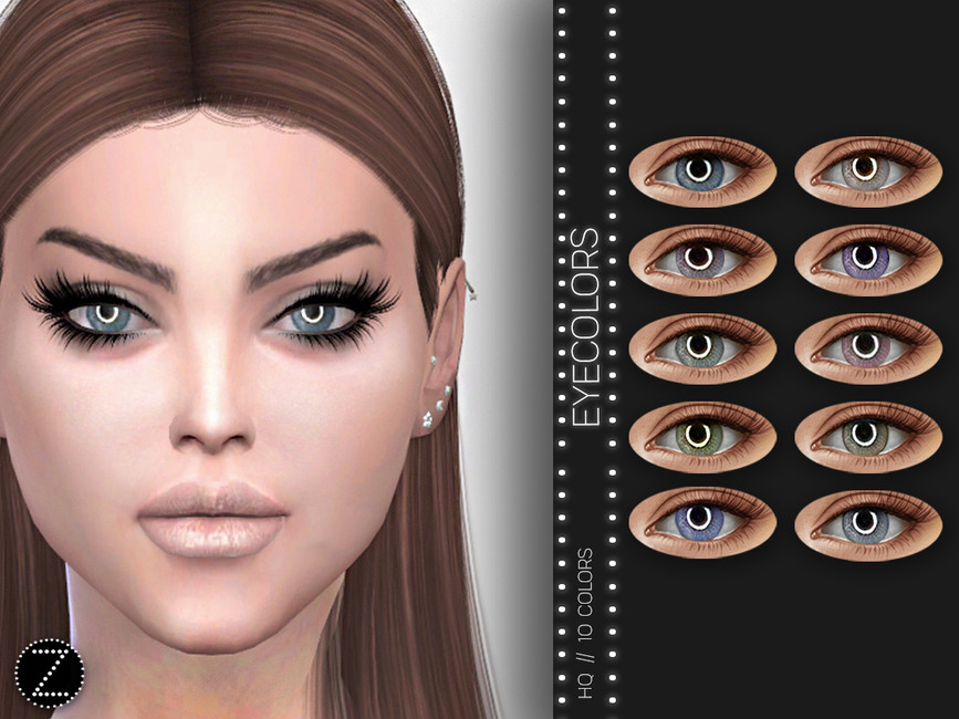 Глаза EYECOLORS Z02 для Симс 4