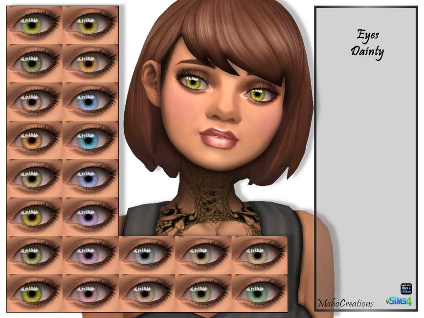 Глаза Eyes Dainty Симс 4