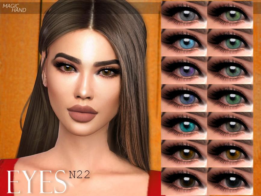 Глаза Eyes N22 для Симс 4