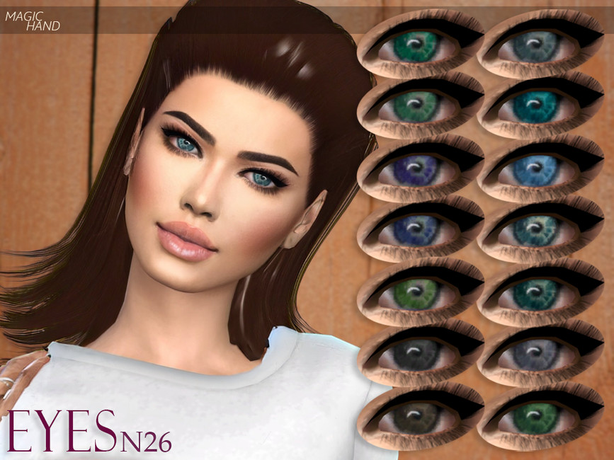 Глаза Eyes N26 для Симс 4