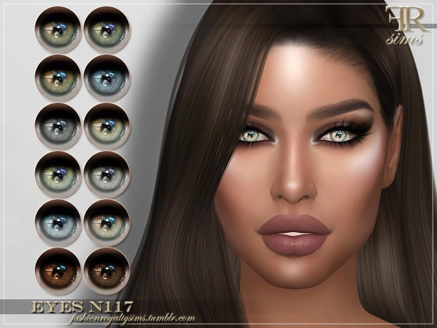 Глаза FRS Eyes N117 для Симс 4