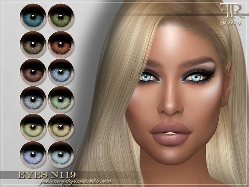 Глаза FRS Eyes N119 Симс 4