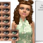 Глаза гетерохромия Симс 4