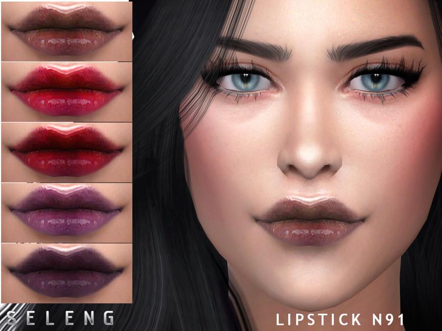 Губная помада Lipstick N91 Симс 4